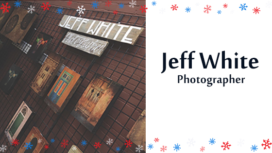 Jeff White Holiday Promo Header