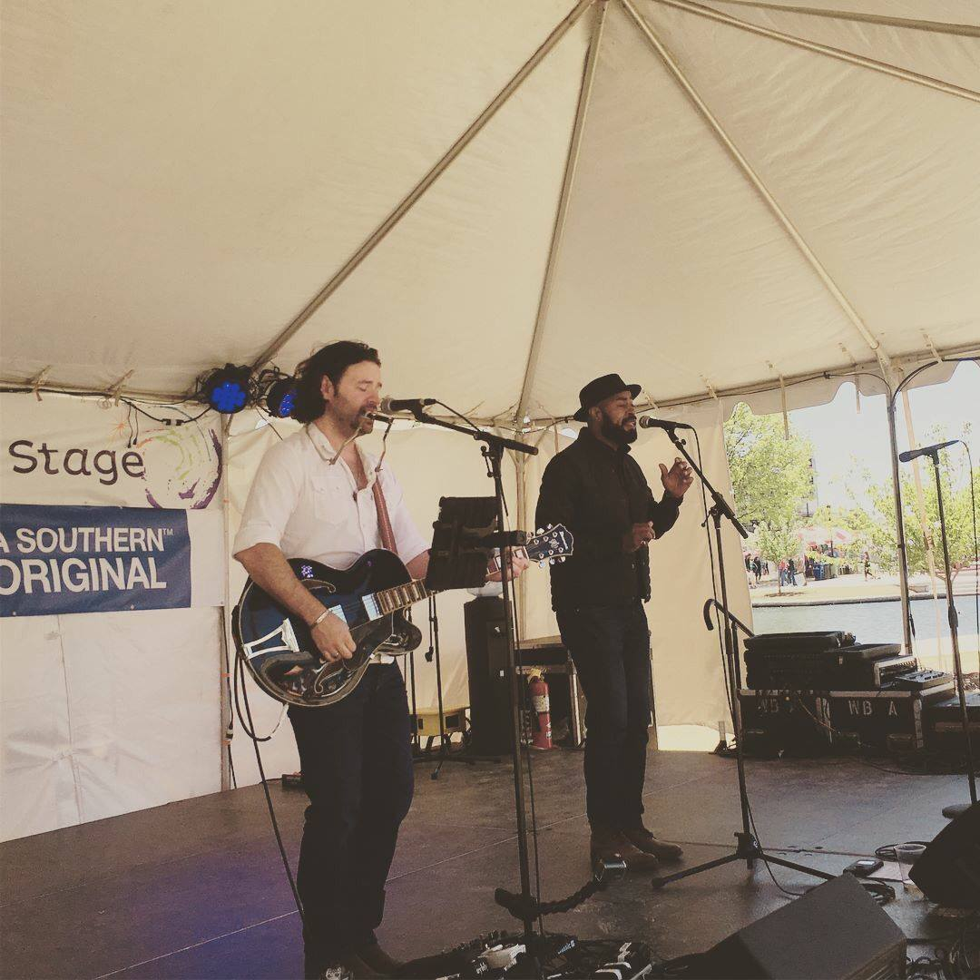 Joshua C.S. with Lamar Williams Jr. live at Panoply Hunstville