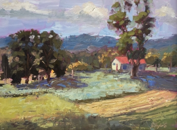 Landscape artwork and Plein Air events