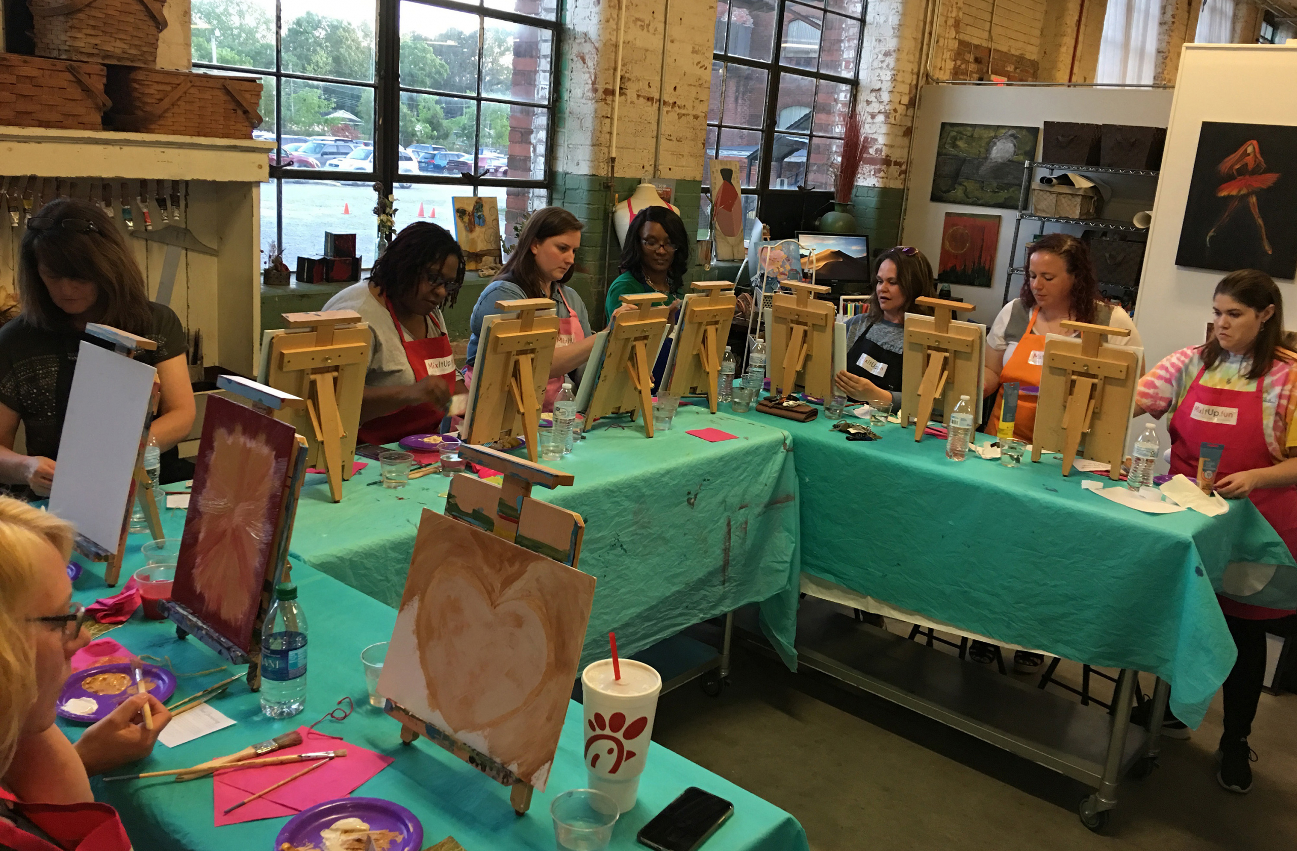 Mixed Media painting party