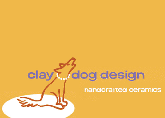 Clay Dog Design by Diane Walls