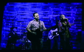 Joshua C.S. with band live at the City Winery Nashville