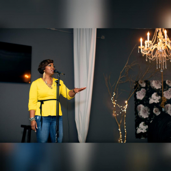 Singing at a surprise Birthday Party in Huntsville