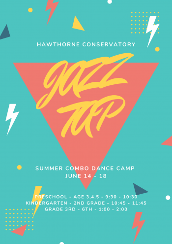Join us as we delve into basic steps and body movements for tap and jazz. Each class will be tailored for that age group and each class will learn a quick routine, which will be demonstrated on the last day.